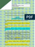 Lei 7.502  - Estatuto de Belém