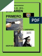 DISPAREN PRIMERO