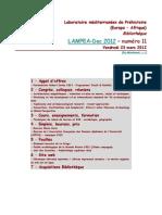 LAMPEA-Doc 2012 – numéro 11 / Vendredi 23 mars 2012