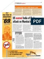 TheSun 2008-12-03 Page09 US Warned India of Likely Attack on Mumbai in October