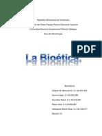 Trabajo final de La Bioética