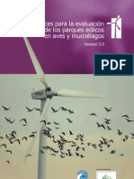Informe Impacto Parques Eolicos Espana