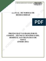 Manual de Normas de Bioseguridad Hsf