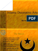 islamic decorative arts & Arabic Calligraphy ( By Kevin Benoy )