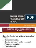 7 Admin is Trac Ion de Pasivos a Corto Plazo