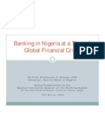 Nigerian Banks_Global Fin_Crisis - Soludo