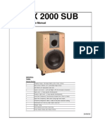 Lx 2000 Sub Service Manual