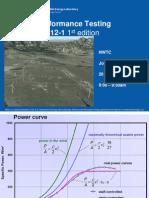 NREL - IEC 61400-12 - WTG Power Performance Measurement
