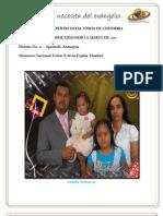Informe Misionero a Marzo 2012 - Apartó