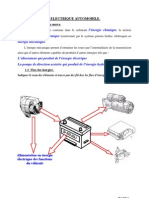 L'EQUIPEMENT ELECTRIQUE AUTOMOBILE