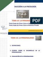 Tema 10. Personalidad.