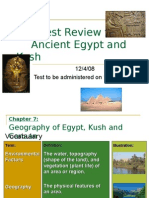 Vocabulary Egypt Test Review