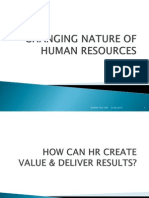 1-Changing Nature of Human Resources