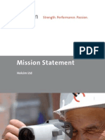 A6-5 Mission Statement 2011