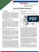 Cuidado y Mantenimiento de Sistemas Hidraulicos