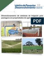 Dimensionamento de sistemas de irrigação para pastagens em propriedades de agricultura familiar(www.azootecnia.blogspot.com)