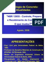 Expoconstrucao 2008 NBR 12655 Antonio Sergio