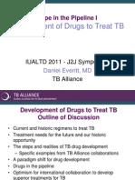 Development of Drugs to Treat TB (Dr. Daniel Everitt)
