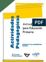 actividades valores primaria