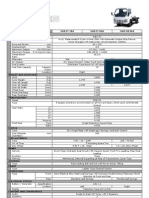 Isuzu Specification - NHR 2011