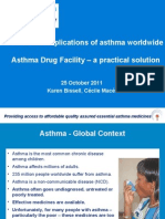 Costs and Implications of Asthma (Karen Bissell, Cecile Mace)