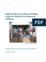 Habitat High Performance Guide