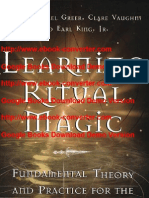 Learning Ritual Magic- Fundamental Theory and Practice for the Solitary ... by John Michael Greer- Earl King- Jr.- Clare Vaughn