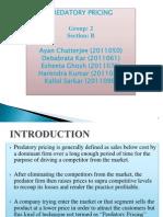 Predatory Pricing (1)