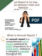 Presentation on Annual Report_Kashif Iftikhar