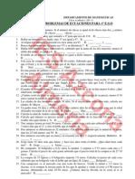 Banco Problemas ecuaciones-1ºESO