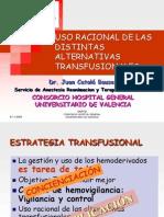 Uso Racional de Alternativas Transfusion Ales