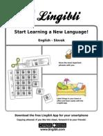 Start Learning Slovak With Lingibli