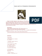Poeta Agostinho Neto e Primeiro Presidente de Angola