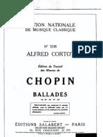 Chopin-Cortot 4 Ballades
