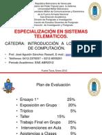 PRESENTACIÓN DE LA CATÉDRA DE COMPUTACIÓN
