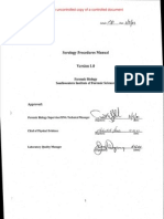 SWIFS FBU Serology Procedures Manual v1.0 (11.12.2001) - Re Formatted - Copy