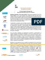 Se crea el Capítulo Nicaragua del Movimiento Mundial en Favor de la Infancia