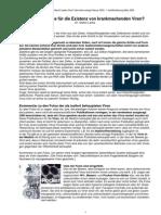 Virenexistenz - Gibt es Beweise für die Existenz von krankmachenden Viren