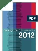 Catalogo_Publicaciones_CIS_2012