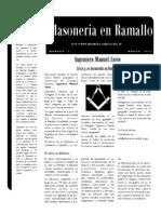 Boletin de la Logia Ingeniero Manuel Savio :