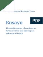 Ensayo Vicente Cervantes