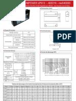 PWS -UNIPOWER UP613  - 40E016 - rev040930