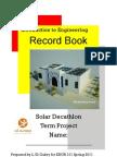 ENGR101_SolarDecathlon_RecordBook