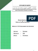 Module 18 - Etablissement des prévisions 1
