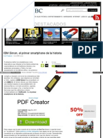 Www Neoteo Com Ibm Simon El Primer Smart Phone de La Historia