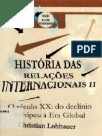 lohbauer, christian. história das relações internacionais, v. 2 [2005]