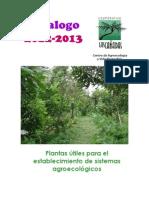 Catalogo2011-2012 Plantas Utiles Para Sistemas Agroecologicos