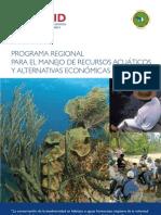 Folleto Programa Regional USAID para el Manejo de Recursos Acuaticos y Alternativas Economicas