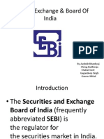 Security Exchange & Board of India
