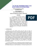 manejo del programa etabs para el diseÑo de modelos bÁsicos